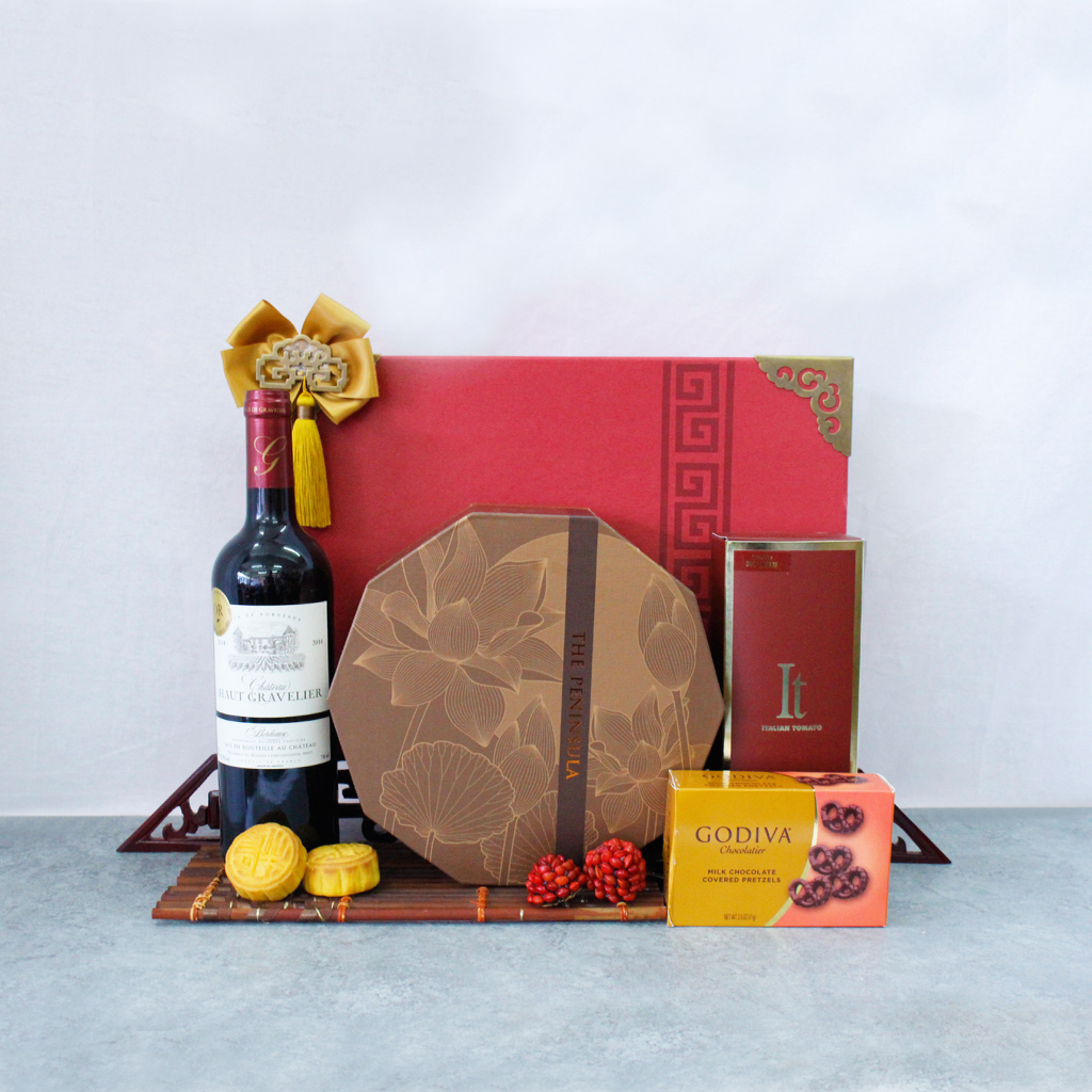 Cake Decorating Course In Hk : Mid Autumn, The Peninsula Moon Cake Gift Basket MA2015 ...