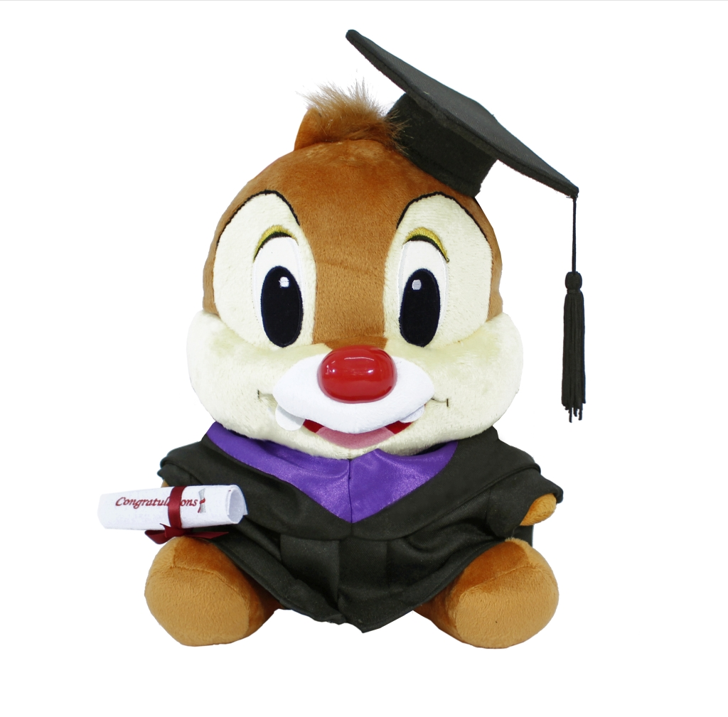 Disney Graduation Plush Dale Global Primary Secondary
